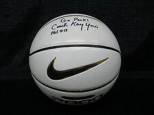 NC State Coach Kay Yow Signed Nike 2000 Autograph Basketball JSA I58710