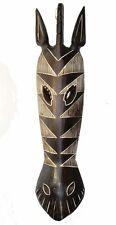 Masque Mural Zèbre 0,50m Masque en bois 50cm BOIS MASQUE SALON