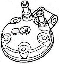 GENUINE HONDA OEM CYLINDER HEAD 1998-1999 CR125 12200-KZ4-J00