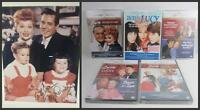Lucille Ball Holiday Gift Set 5 New Sealed Lucy TV DVD + Photo Signed Lucie, COA