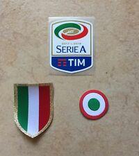 toppa patch calcio Scudetto Coccarda Serie A 2018 Tricolore  Juventus Milan