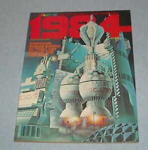 October 1978 WARREN 1984 FANTASY ILLUSTRATED MAGAZINE # 4 RICHARD CORBEN COLOR