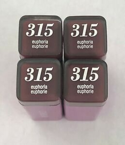 (4) Covergirl Colorlicious Lipstick, 315 Euphoria
