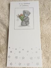 To My Girlfriend Tatty Teddy Me To You Christmas Card With Envelope From 99p