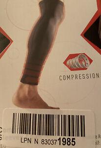 McDavid - Small Compression Leg Calf Sleeves Pair #6572 New Black