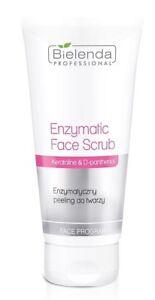 Bielenda Professional Enzymatic Face Scrub Peeling Keratoline & D-panthenol 150g