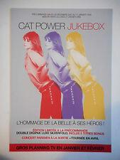 ▓ PLAN MEDIA 4 PAGES ▓ CAT POWER : JUKEBOX