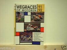 884 WEGRACE OP MOTOREN 1991-92 ROADRACE,YAMAHA, SUZUKI