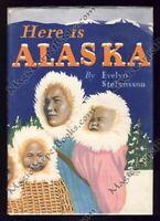 1943 HERE IS ALASKA Alaskans SOCIOLOGY Eskimos INUIT 1940s PHOTOS 1st Edition