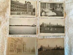 Antique Postcard Lot x 6 Netley R V Hospital Hampshire Circa 1914-1920