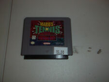 Mario's Tennis (Nintendo Virtual Boy, 1995) tested and works