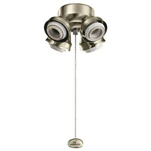 Kichler 4 Light LED Turtle Fitter, Brushed Stainless Steel - 350210BSS