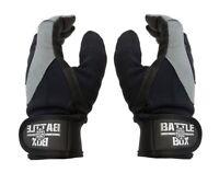 BattleBox UK™ Full Finger Leather Palm Gloves  (M size) WOD  Fitness CrossFit