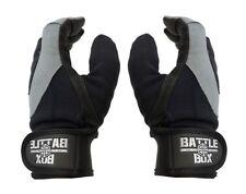 BattleBox UK™ Full Finger Leather Palm Gloves  (L size) WOD  Fitness CrossFit