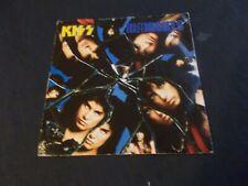 """KISS Crazy Crazy Nights 45 RPM UK 7"""" Picture Sleeve '87 Vertigo (VG++)"""