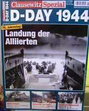"""Buch Clausewitz Spezial D-Day 1944 Landung der Alliierten """"Neu""""(AND)"""