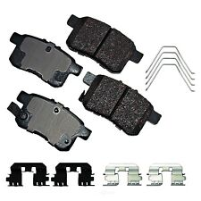 Disc Brake Pad Set-ProACT Ultra Premium Ceramic Pads Rear Akebono ACT1336A
