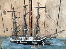 Maquette de voilier / Ancienne maquette / Galion Fregate Miniature /Jouet ancien