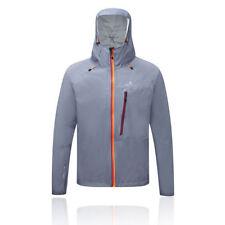Abrigos y chaquetas de hombre grises impermeable