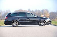 Rieger Seitenschweller Carbon-Look mit Schacht und Ausschnitt für VW Passat 3C