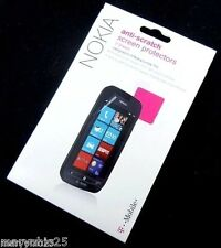S OEM Authentic T Mobile Anti Scratch Screen Protector for Nokia Lumia 710
