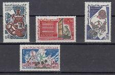 Algérie 448-50 + 451 Artisanat + Météorologie (MNH)