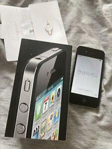 iPhone 4 (Orange locked) 8GB black