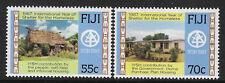 FIJI 1987 YEAR SHELTER FOR HOMELESS 2v MNH
