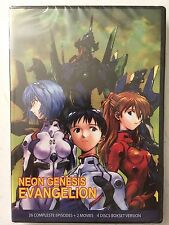 Neon Genesis Evangelion Complete DVD Series 1-26 End of Evangelion Death Rebirth