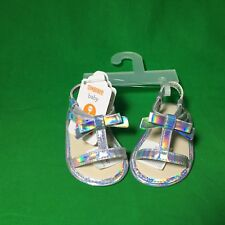 Gymboree Baby Silver Sandals size 01