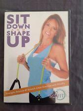 Sit Down And Shape Up (Dvd) Missfit Anita Terlizzi Brand New