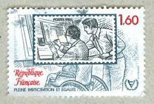 FRENCH POSTAGE - PLEINE PARTICIPATION ET EGALITE STAMP 1,60 POSTES 1981 FRANCE