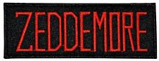 Ghostbusters Movie Zeddemore Name Tag Embroidered Patch