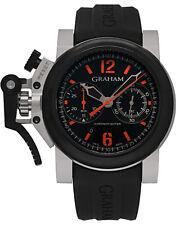 Graham Chronofighter Oversize Automatic Chronograph Men's Watch - 2OVBV.B42A