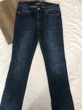 Tribal Denim Camille Natural Waist Curvy Fit Straight Leg Women's Size 29 Size 8