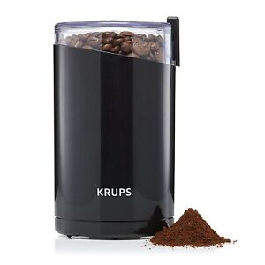 Krups Coffee Beans Mill Grinder Spice Nuts Herbs Seeds Chopper S/Steel Blade NEW