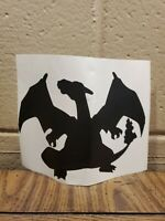 Pokemon Charizard charecter Vinyl Decal Sticker car decal multi use 5x7