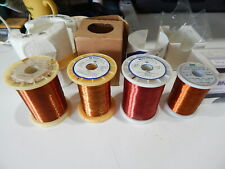 Mws Wirenetics 38 Awg 26awg 39awg 30awg Magnet Wire Lot Of 4 Spools Fast Ship