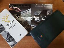 Vintage 120 de Apple Newton MessagePad. os 2.0. Funcionando. ver Video. un Solo Dueño