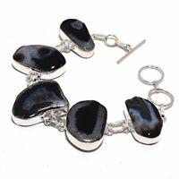 Solar Quartz  Ethnic Jewelry Handmade Bracelet 36 Gms BB-2924