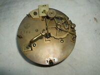 ANTIQUE FRENCH BRASS CARRIAGE CLOCK MAURCL MOVEMENT NEED RESTORATION. NO.1358
