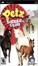 Petz Saddle Club PSP New Sony PSP