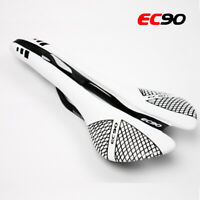 EC90 Seatpost Carbon Seat Tube Gel Leather Seat Cushion MTB Bike Racing Saddle