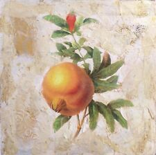 Starlie Sokol Hohne Untitled Fruit Original Mixed Media Artwork, Make Offer!