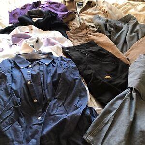 Mega Bundle Mens Shirts Trousers Jeans Boateng Tyrwhitt Hollister Next Reseller