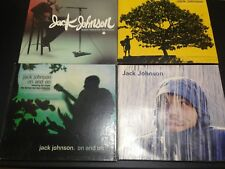 JACK JOHNSON 5-DISCS: SLEEP THROUGH THE STATIC + IN BETWEEN DREAMS + ON & ON +..