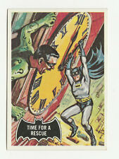 66 BATMAN TOPPS TIME FOR A RESCUE 1966 NO 41 NRMINT+ 8349