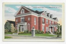 1920 SHREVEPORT LOUISIANA Womans Department Club Unposted Post Card #3458