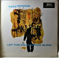 Fats Domino Let the Four Winds Blow Orig Mono LP NM Vinyl Inner Sleeve R&B Oldie