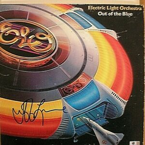 "JEFF LYNNE SIGNED  ALBUM-""OUT OF THE BLUE"" 'ELECTRIC LIGHT ORCHESTRA' -CERT-GA"
